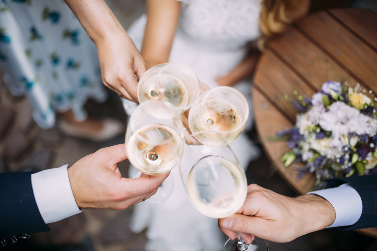 Wedding planning - think about wines and food matching